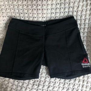 Reebok Crossfit Black Compression Shorts